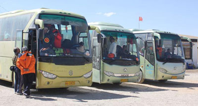 Kailash Tour Luxury Bus